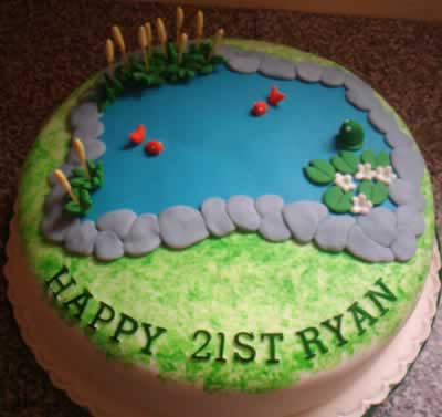 Novelty Fish Cake Cake Ideas And Designs